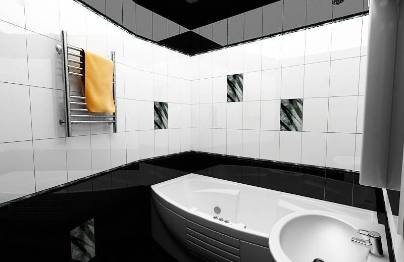 Свежесть и практичность – ванная в современном стиле