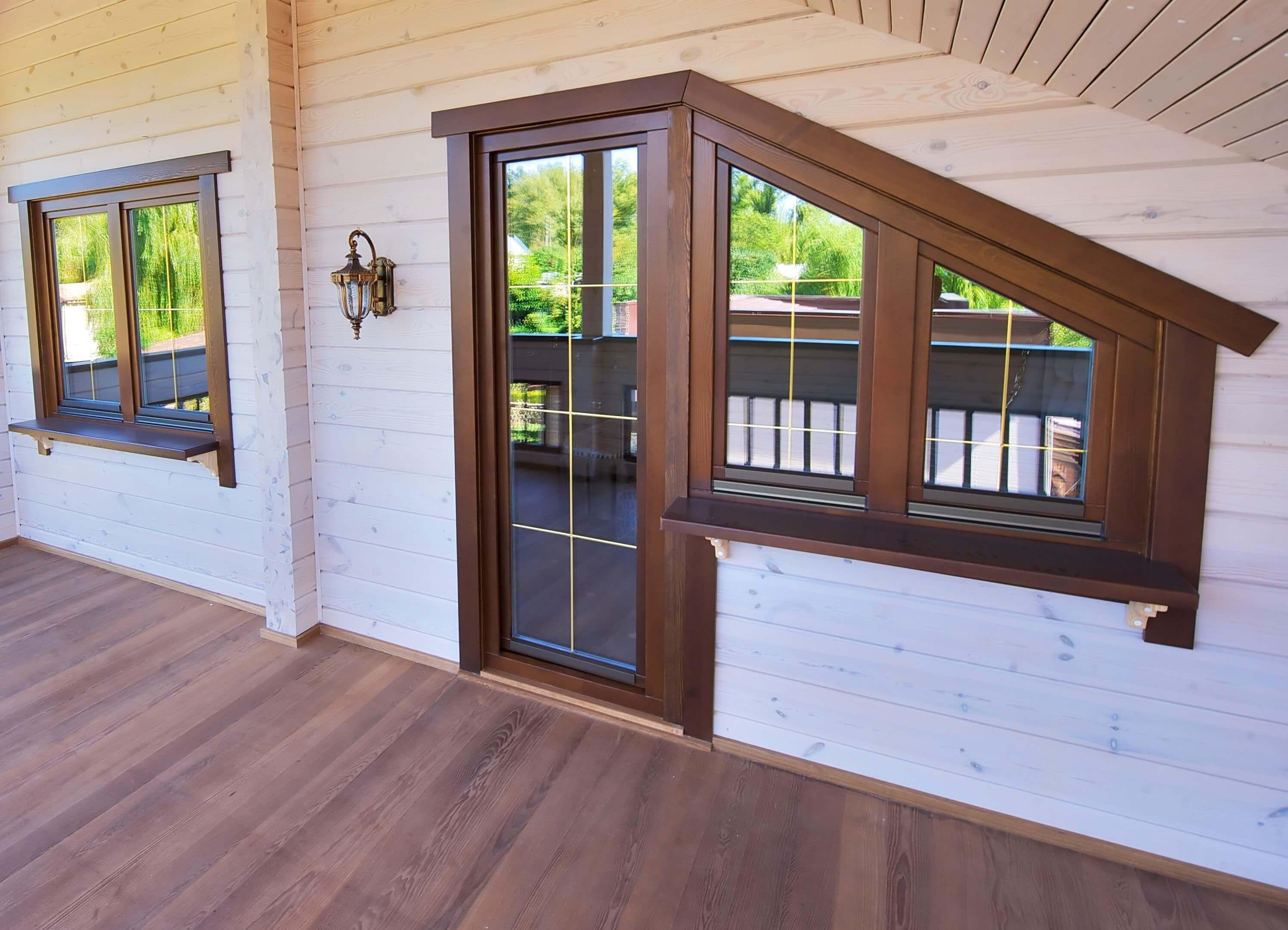Красивые окна в деревянном доме: как выбрать подходящие окна для любого дома? советы дизайнеров + 90 фото