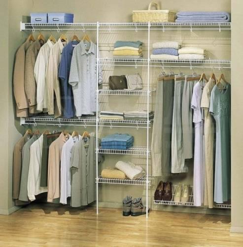 Системы хранения вещей для гардеробной: критерии выбора