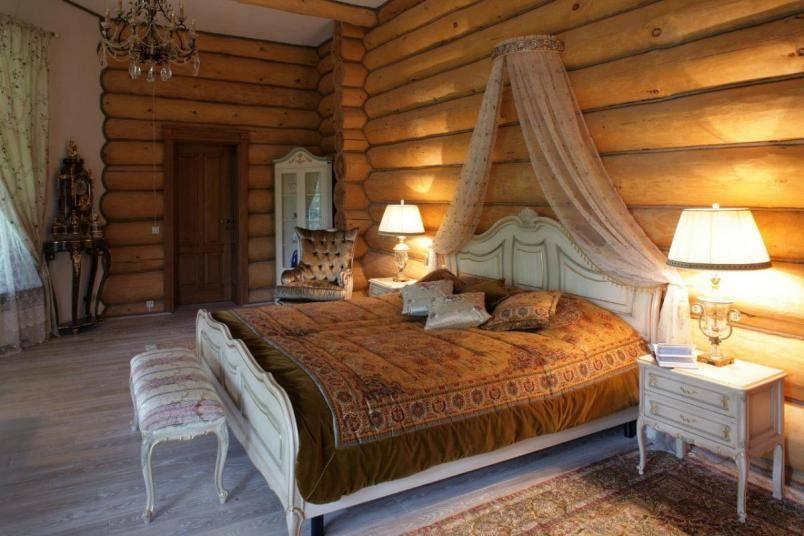 100 лучших идей: интерьер деревянного дома внутри на фото