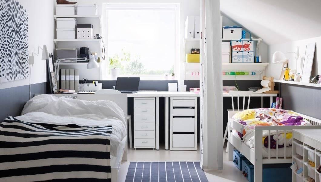 Идеи дизайна спальни с детской кроваткой, варианты размещения родителей