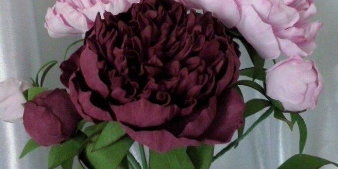 Цветы из фоамирана: лучшие идеи как сделать красивые и стильные цветы (100 фото и видео)