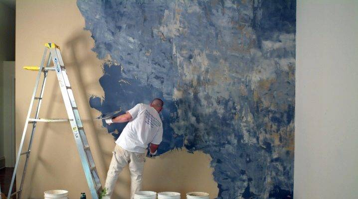 Отделка стен красивой декоративной шпаклевкой своими руками: как производятся работы, поочередность действий