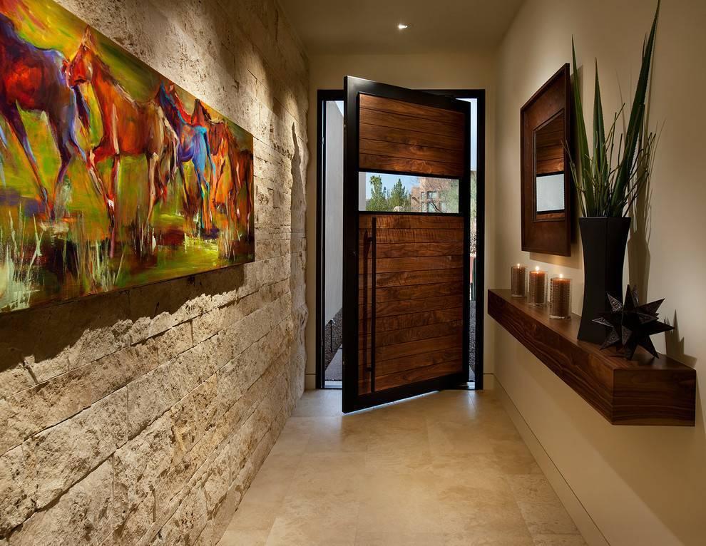 Входные деревянные двери: выбор из существующих вариантов