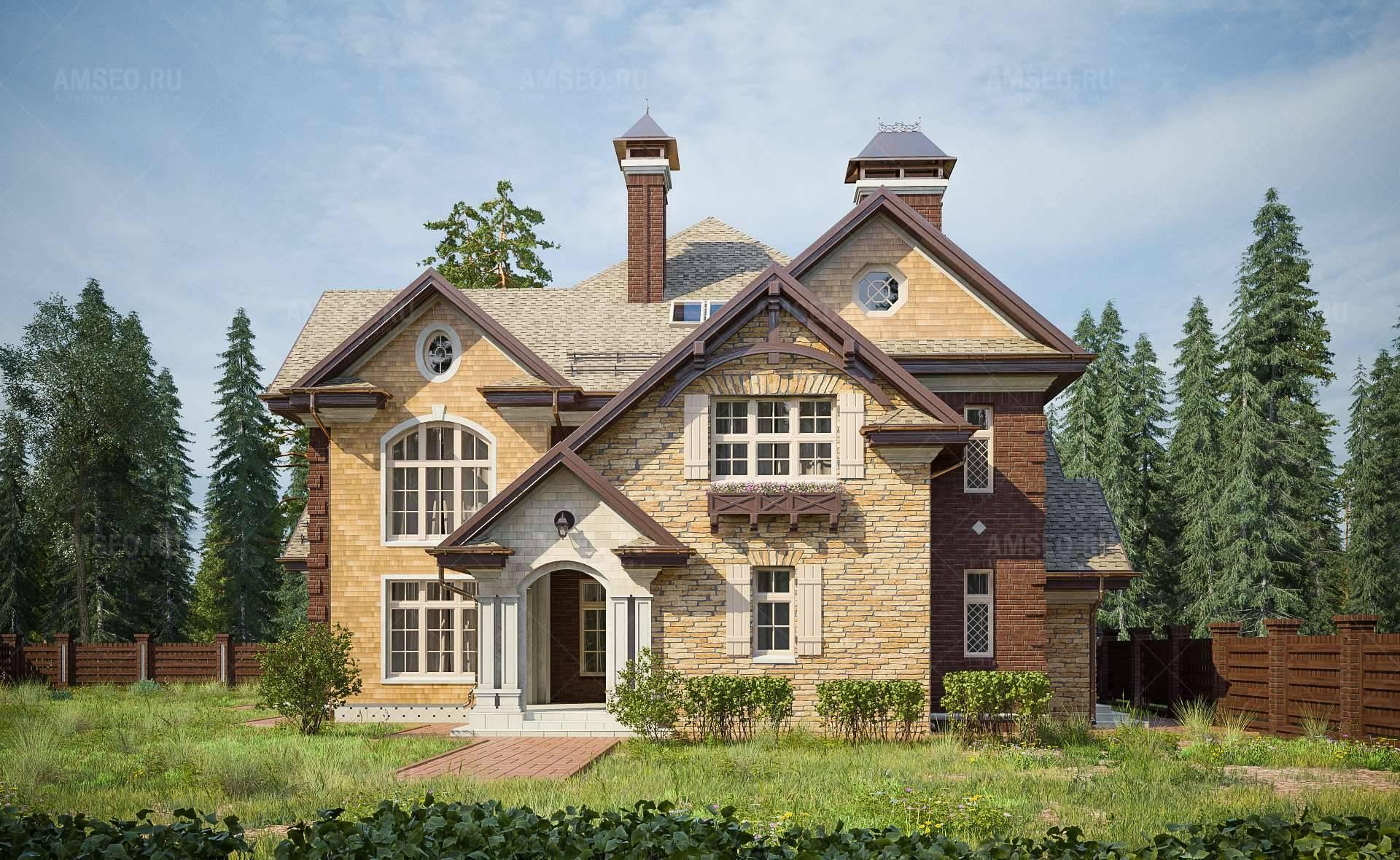 Дома в английском стиле (58 фото): интерьер кирпичного загородного дома, проект одноэтажного коттеджа из кирпича