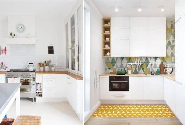 Всем любителям белого цвета посвящается – кухня в скандинавском стиле