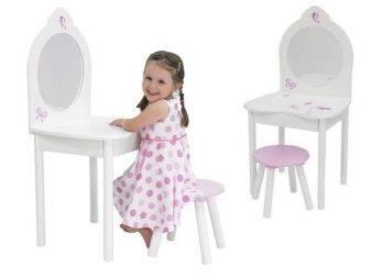 Туалетный столик для девочки: назначение и критерии выбора