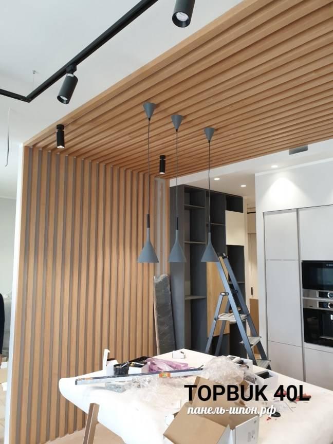 Виды потолков в деревянном доме - варианты отделки