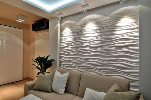 Самые интересные и новые идеи интерьеров с 3д панелями на стенах: 50 фото