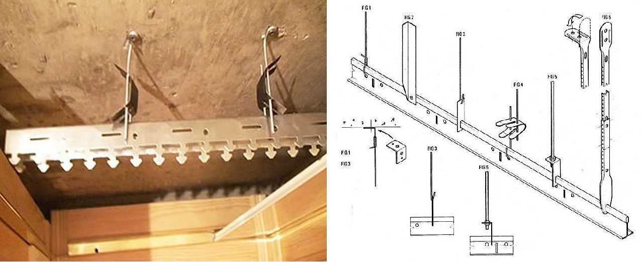 Подробное видео монтажа реечного потолка своими руками
