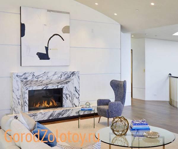 Телевизор над камином: виды, выбор места расположения, примеры в различных стилях