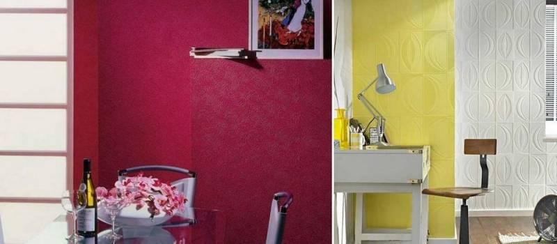 Можно ли красить обои не под покраску: советы мастера?