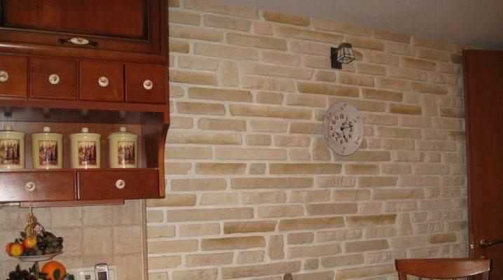 Стеновые панели под кирпич для кухни - варианты