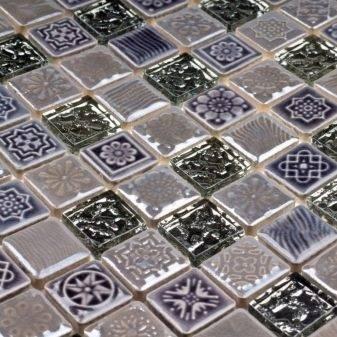 Самоклеящаяся мозаика — особенности и технология укладки