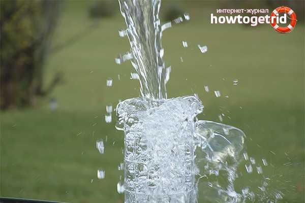 Как очистить воду из скважины своими руками