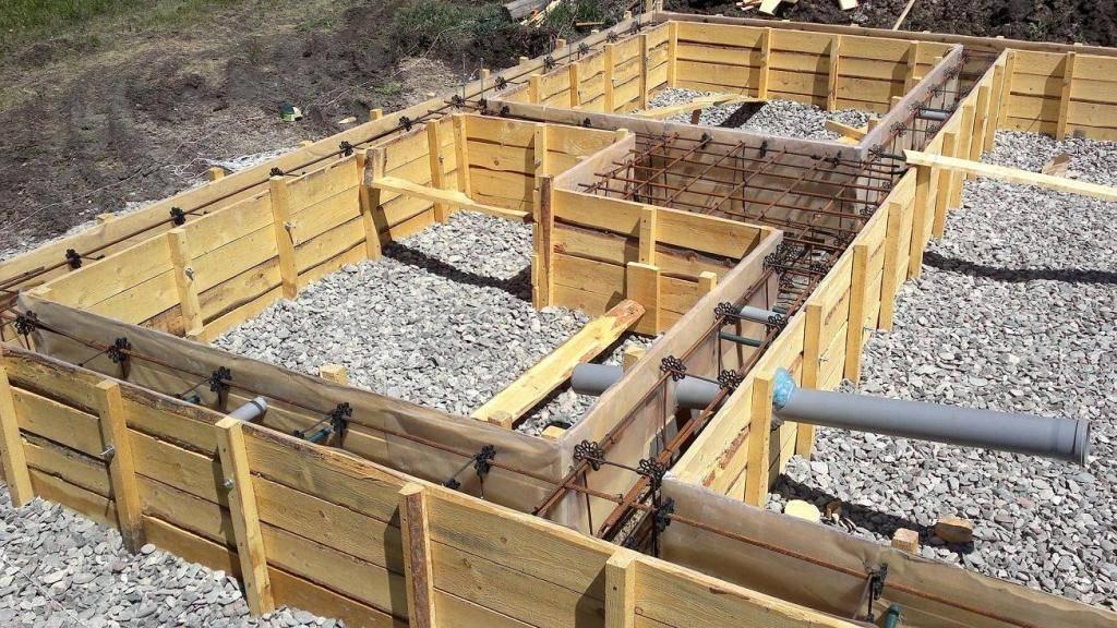 Опалубка своими руками - 95 фото постройки опалубки для стен и фундамента