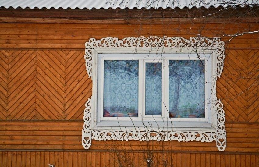 Наличники на окна в деревянном доме – как сделать своими руками, резные наличники