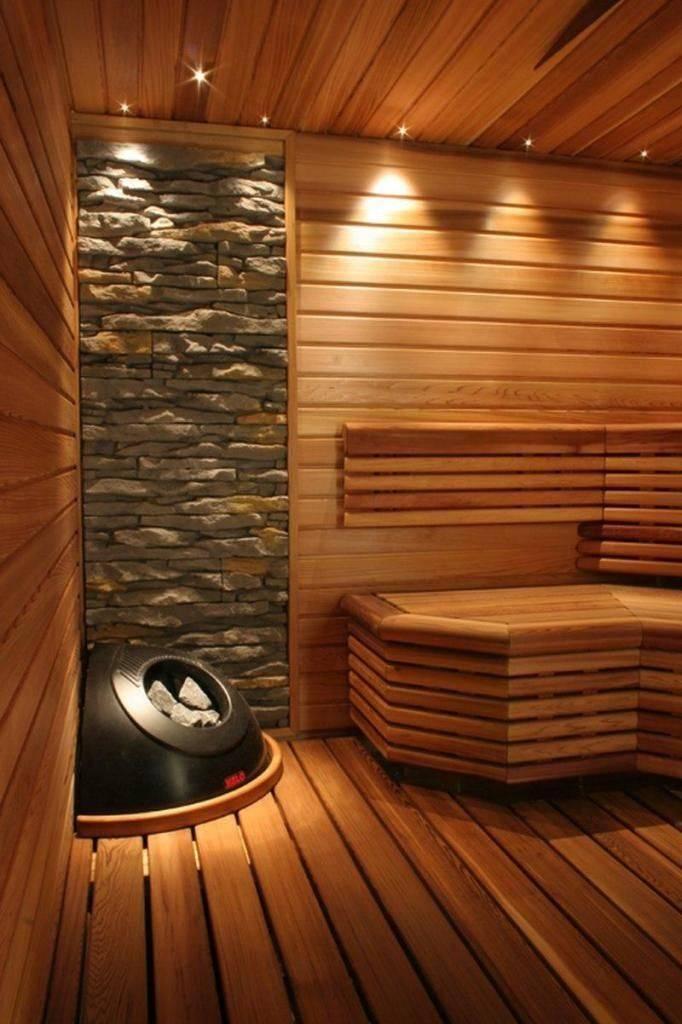 Сауна в квартире (50 фото): дизайн комнаты для традиционного отдыха