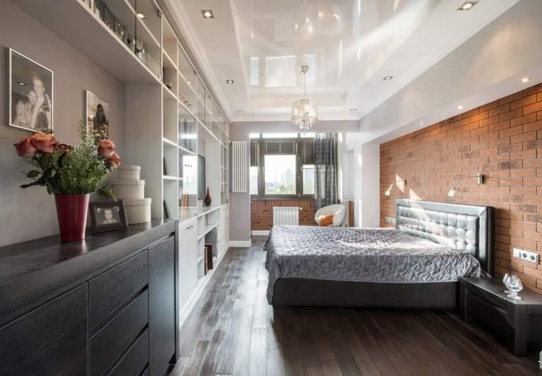 Натяжные потолки для спальни: особенности выбора и дизайн
