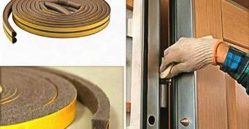 Шумоизоляция дверей – что влияет на качество шумоизоляции и какие материалы при этом используются