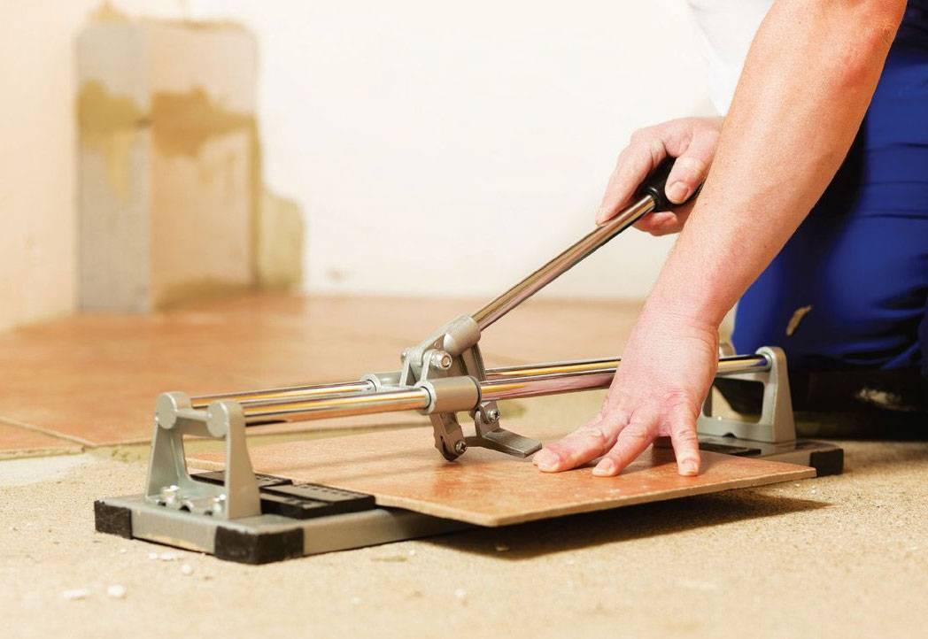 Керамическая плитка: рекомендации по резке кафеля в домашних условиях