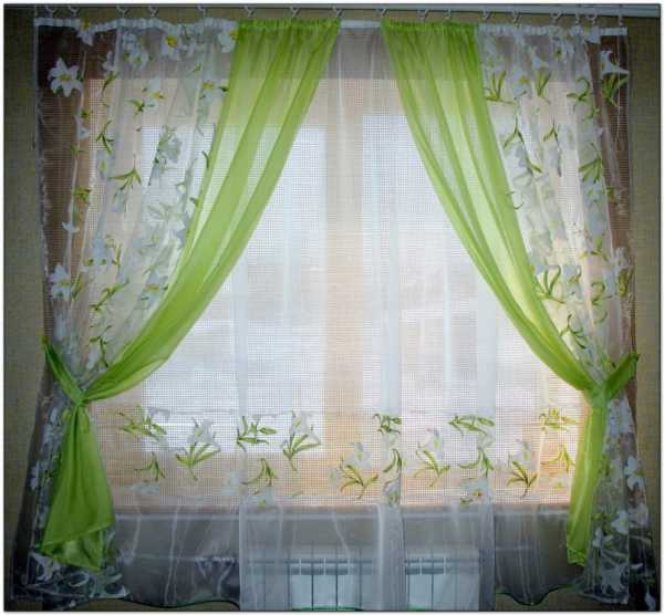 Комбинированные шторы - оформляем с умом! 100 фото идей дизайна