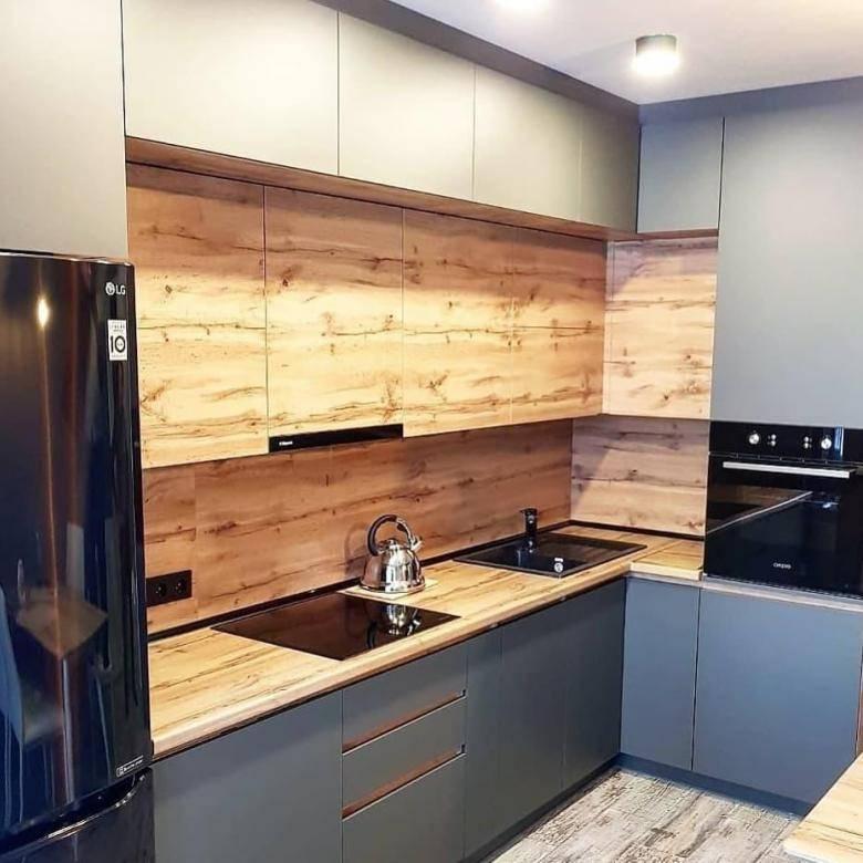 Шкафы до потолка на кухне (35 фото): высокие верхние шкафы в кухонном гарнитуре