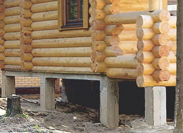 Выбор и собственноручное сооружение фундамента для каркасного дома