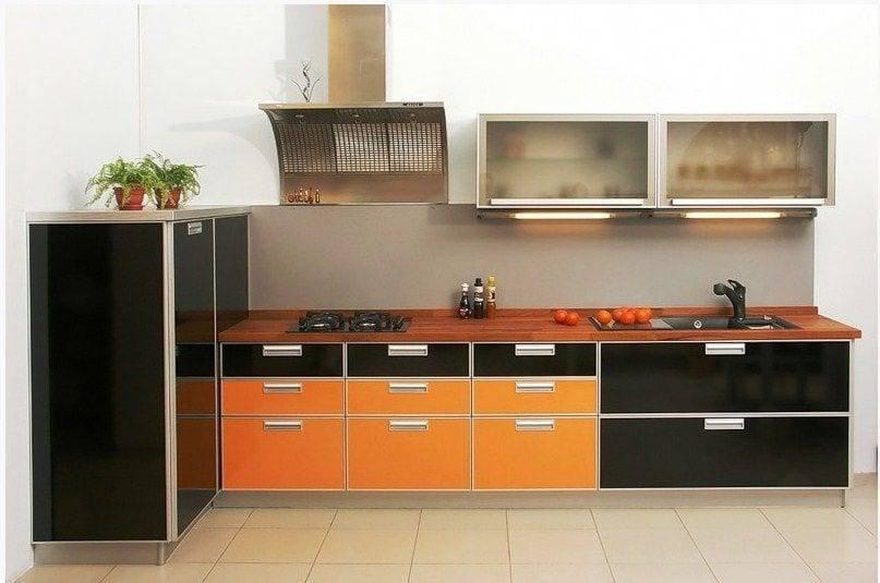 Пластиковые фасады для кухни (53 фото): цветовая гамма кухонных фасадов для кухонь из мдф и других материалов. лучше ли они пленки? их виды