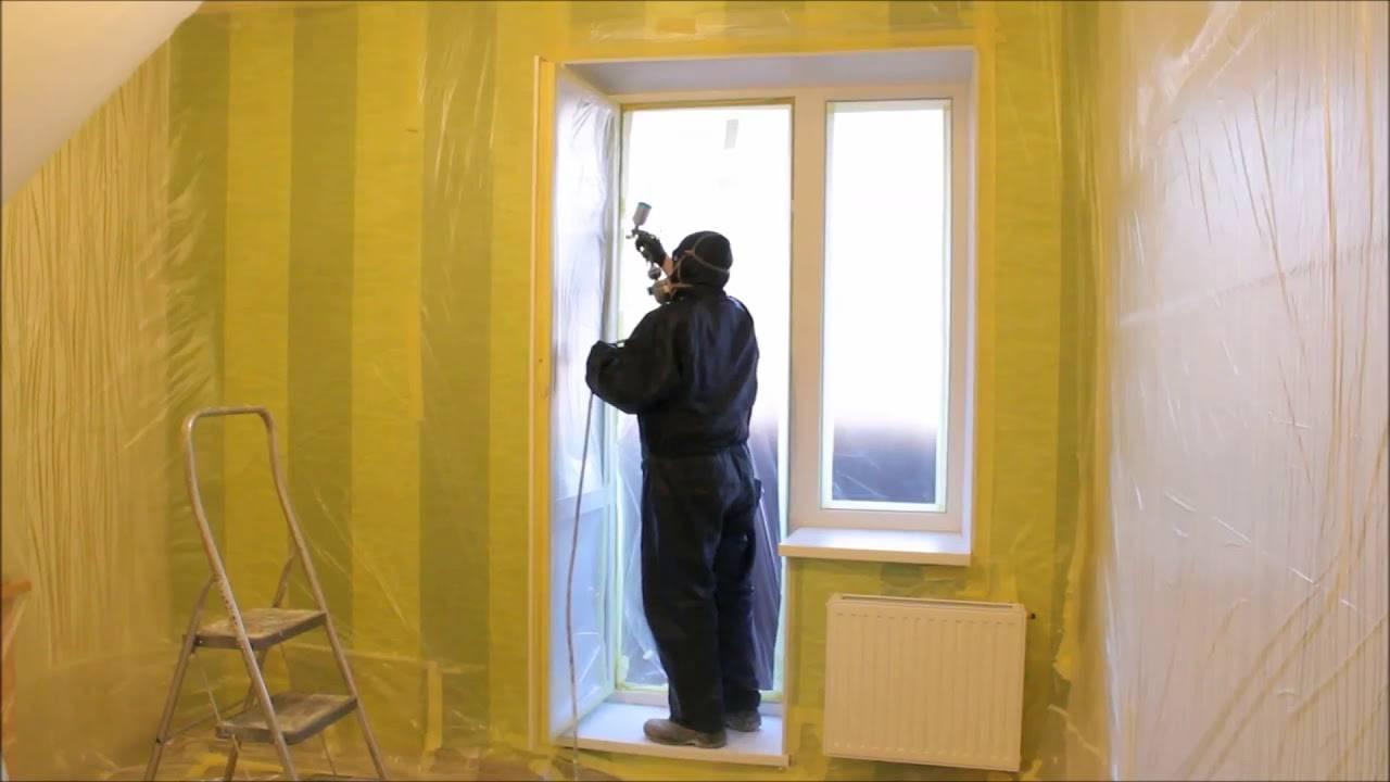 Как покрасить старые деревянные окна?