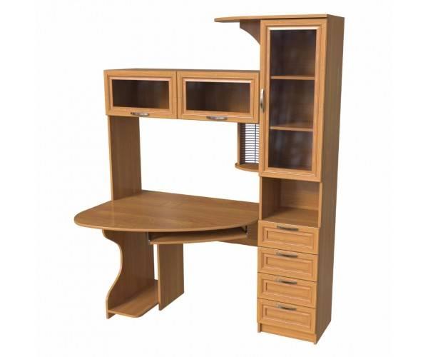 Письменный стол с надстройкой для школьника