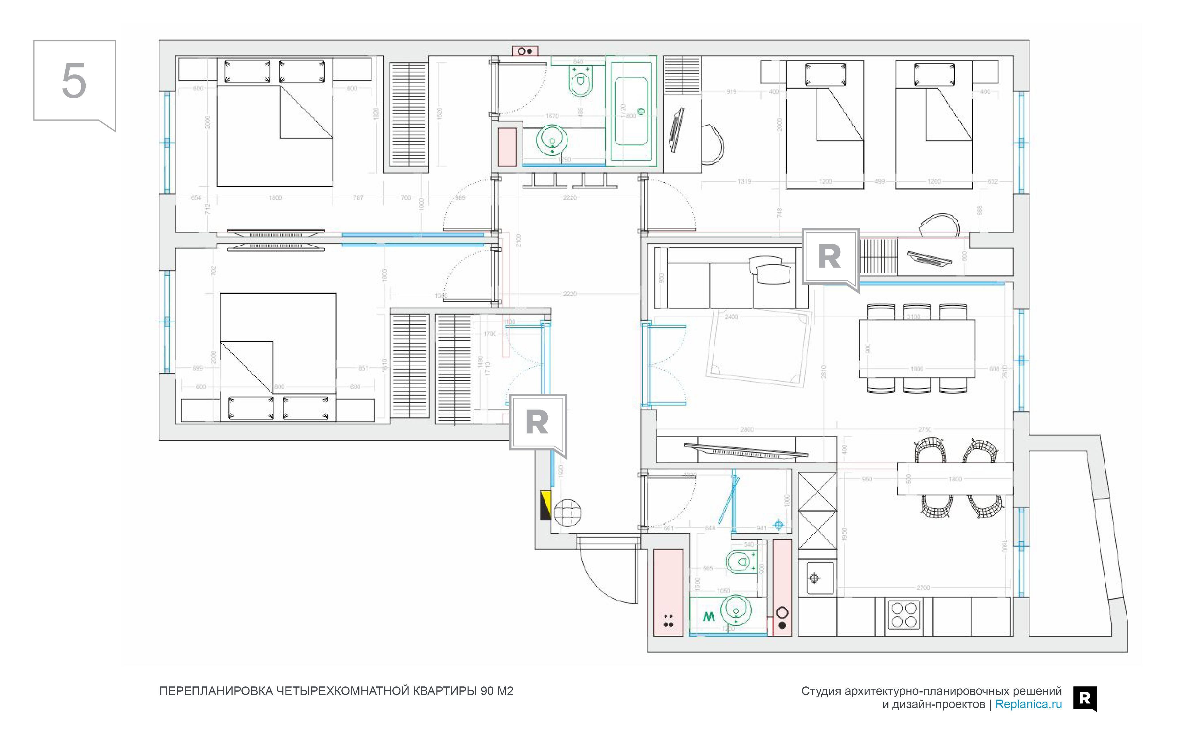 Планировка 3-х комнатной квартиры (51 фото): лучшие проекты трехкомнатных квартир улучшенной планировки в панельных домах- новостройках