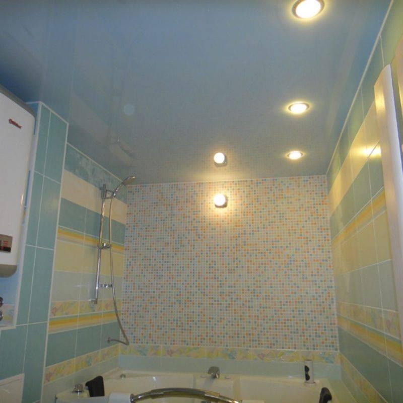 Потолок в ванной комнате, какой выбрать?
