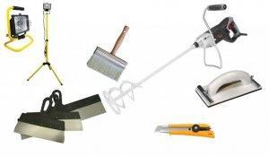 Основные виды растворов для штукатурки стен
