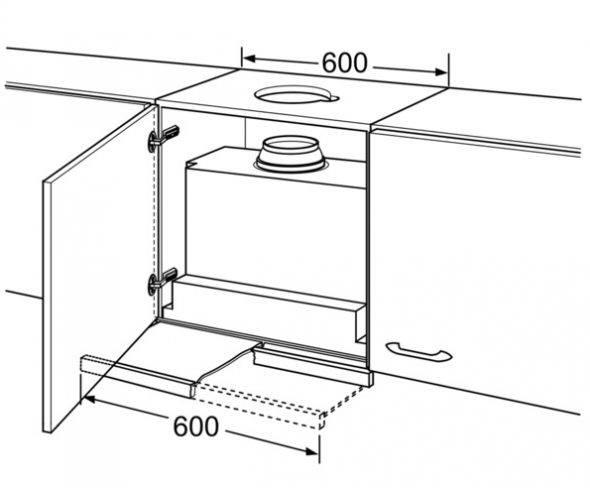 Производим установку вытяжки на кухне своими руками