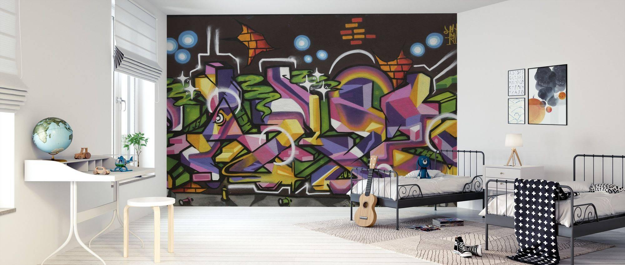 Роспись стен (67 фото): стильная черно-белая роспись квартир, современная художественная роспись акрилом в интерьере гостиной и других комнат, другие виды росписи