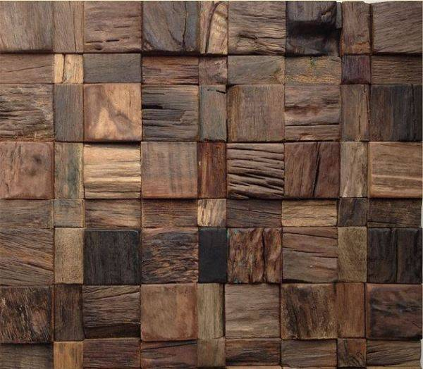 Плитка из дерева своими руками: изготовление и декорирование