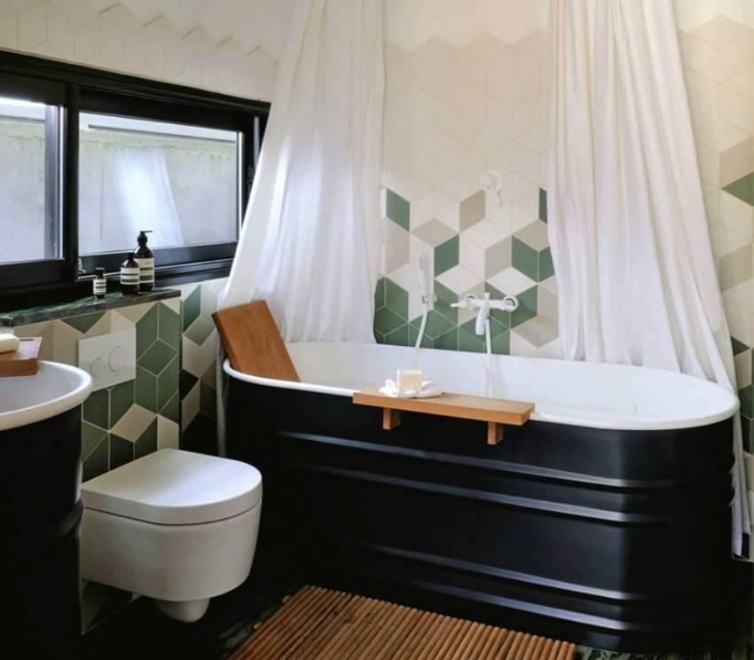 Керамогранит для ванной комнаты: особенности, выбор и применение