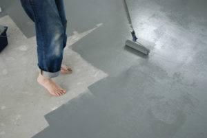 Какой краской красить бетонный пол