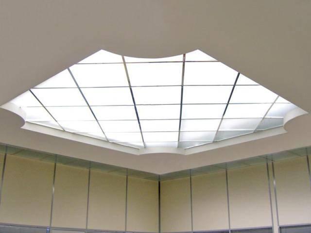 Натяжной потолок с подсветкой по периметру - 51 фото, примеры