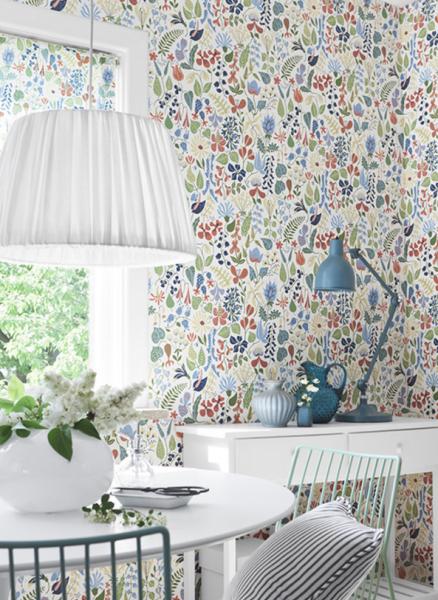 Стильные шведские обои borastapeter в интерьере: дизайн флизелиновых изделий, отзывы