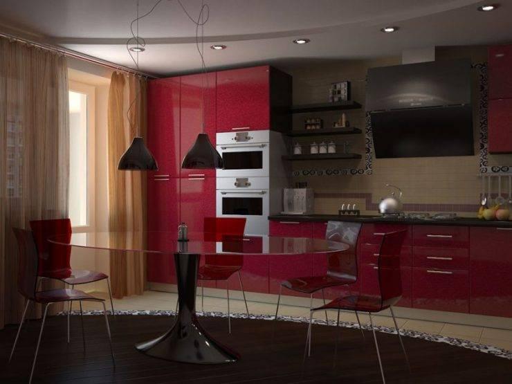 Как подобрать обои на кухню под цвет гарнитура