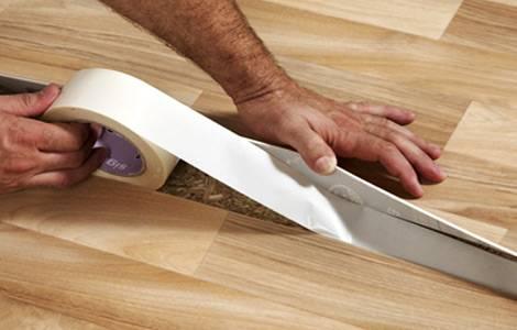 Холодная сварка для линолеума: инструкция, как склеить швы