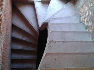 Схема: армирование железобетонной лестницы, чертеж монолитных ступеней