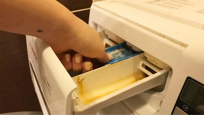 Как почистить стиральную машину домашними средствами за 5 шагов (+фото)