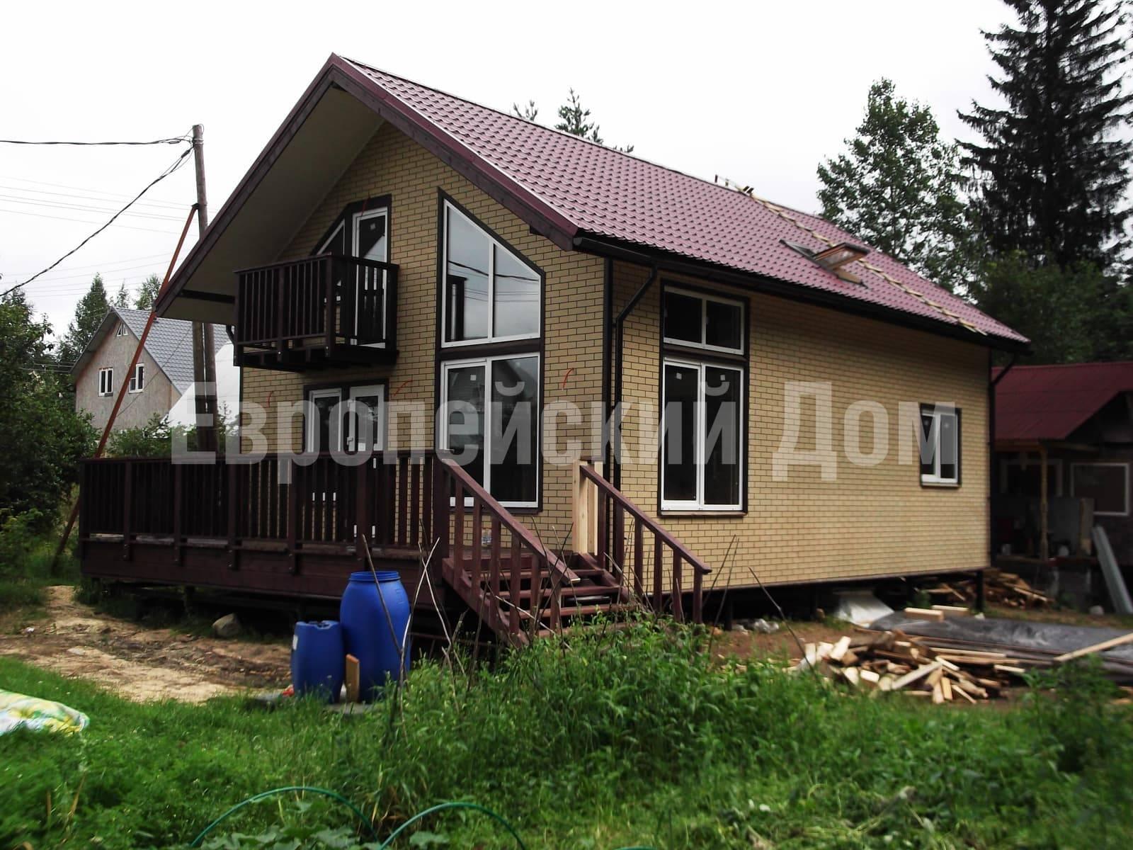 Облицовка каркасного дома: варианты отделки фасада каркасного дома с примерами