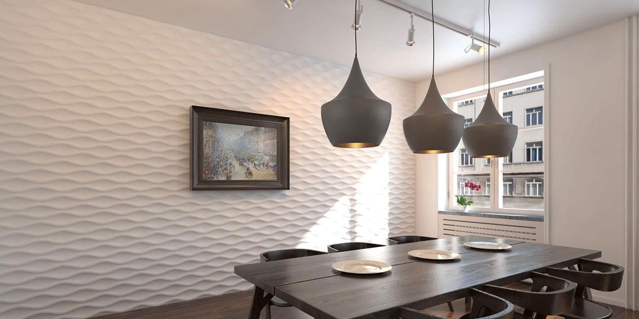 Стеновые панели для кухни, виды - фото примеров