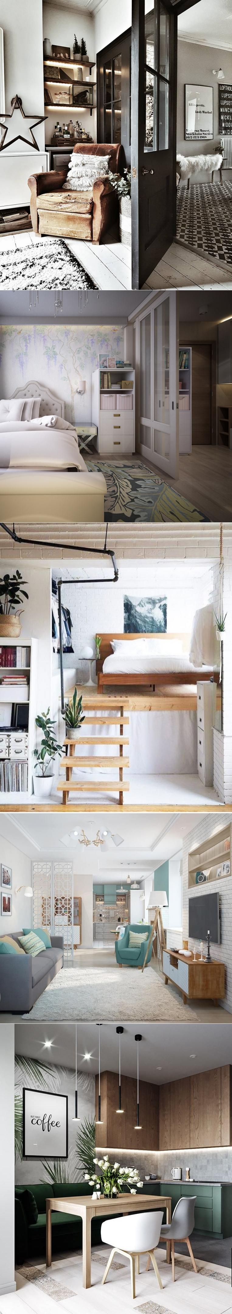 Гостиная спальня в одной комнате: интерьер, разделение зон