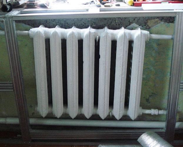 Покраска радиаторов отопления: виды эмалей и рекомендации по нанесению
