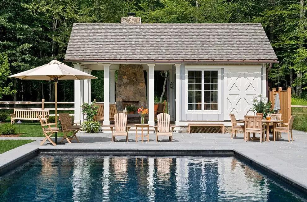 Одноэтажный дом с террасой: 175+ (фото) красивых проектов